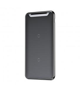 """Juodas atverčiamas dėklas Xiaomi Mi8 Lite telefonui """"Dux Ducis Skin"""""""