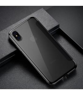 """5D Lenktas juodas apsauginis grūdintas stiklas Huawei Mate 20 Pro telefonui """"Full Glue"""""""