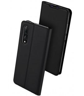 """Juodas atverčiamas dėklas Xiaomi Mi 9 telefonui """"Dux Ducis Skin"""""""