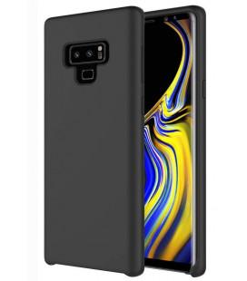 """Juodas silikoninis dėklas Samsung Galaxy Note 9 telefonui """"Silicone Case"""""""
