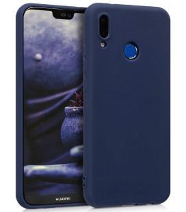 """Tamsiai mėlynas silikoninis dėklas Huawei P20 Lite telefonui """"Silicone Case"""""""