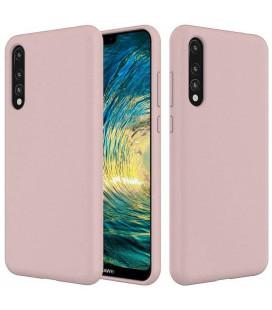 """Rožinis silikoninis dėklas Huawei P20 Pro telefonui """"Silicone Case"""""""