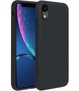 "Juodas silikoninis dėklas Apple iPhone XR telefonui ""Silicone Case"""