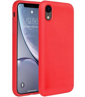 "Raudonas silikoninis dėklas Apple iPhone XR telefonui ""Silicone Case"""