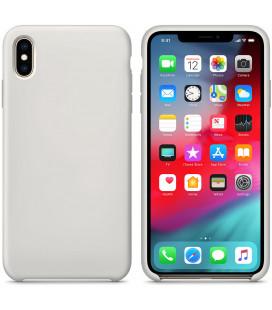 """Pilkas silikoninis dėklas Apple iPhone XS Max telefonui """"Silicone Case"""""""