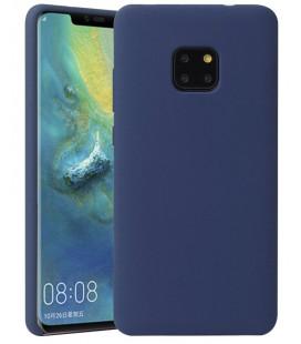 """Tamsiai mėlynas silikoninis dėklas Huawei Mate 20 Pro telefonui """"Silicone Case"""""""