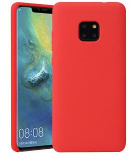 """Raudonas silikoninis dėklas Huawei Mate 20 Pro telefonui """"Silicone Case"""""""