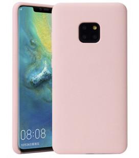 """Rožinis silikoninis dėklas Huawei Mate 20 Pro telefonui """"Silicone Case"""""""