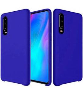 """Tamsiai mėlynas silikoninis dėklas Huawei P30 telefonui """"Silicone Case"""""""