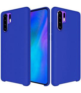 """Tamsiai mėlynas silikoninis dėklas Huawei P30 Pro telefonui """"Silicone Case"""""""
