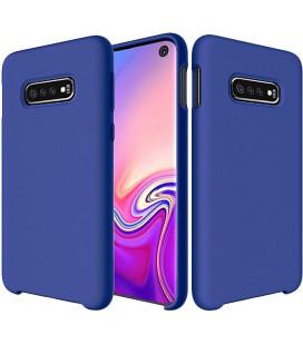"""Tamsiai mėlynas silikoninis dėklas Samsung Galaxy S10e telefonui """"Silicone Case"""""""