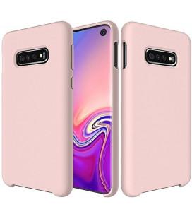 """Rožinis silikoninis dėklas Samsung Galaxy S10e telefonui """"Silicone Case"""""""