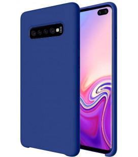 """Tamsiai mėlynas silikoninis dėklas Samsung Galaxy S10 Plus telefonui """"Silicone Case"""""""