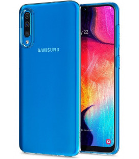 "Skaidrus dėklas Samsung Galaxy A50 telefonui ""Spigen Liquid Crystal"""
