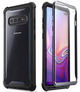 """Juodas dėklas Samsung Galaxy S10 Plus telefonui """"Supcase I-Blason Ares"""""""