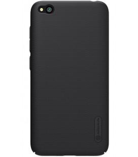 """Juodas dėklas Xiaomi Redmi GO telefonui """"Nillkin Frosted Shield"""" Priedaimobiliems.lt"""