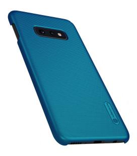 """Odinis raudonas atverčiamas dėklas Samsung Galaxy A9 2018 telefonui """"Nillkin Qin"""""""