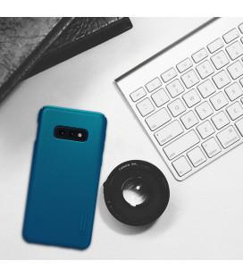 """Odinis rudas atverčiamas dėklas Samsung Galaxy A9 2018 telefonui """"Nillkin Qin"""""""