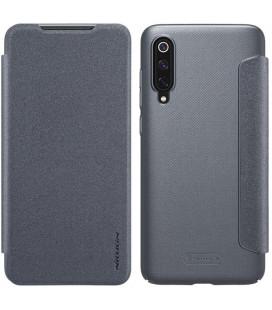 """Atverčiamas pilkas dėklas Xiaomi Mi9 telefonui """"Nillkin Sparkle"""" Priedaimobiliems.lt"""