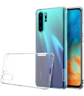 """Skaidrus silikoninis dėklas Huawei P30 Pro telefonui """"Nillkin Nature"""" Priedaimobiliems.lt"""