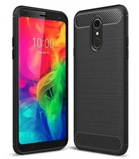 """Juodas dėklas LG Q7 telefonui """"Tech-Protect"""""""