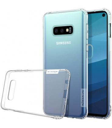 """Skaidrus silikoninis dėklas Samsung Galaxy S10E telefonui """"Nillkin Nature"""""""