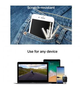 """Lenktas apsauginis grūdintas stiklas Samsung Galaxy S6 Edge telefonui """"Liquid Glass UV"""""""