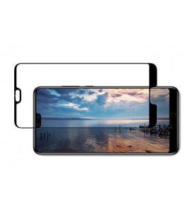 """Juodas atverčiamas dėklas Huawei Y9 2018 telefonui """"Smart Book Magnet"""""""