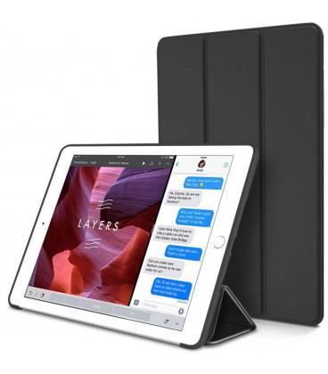 """Juodas atverčiamas dėklas Apple iPad Mini 5 2019 planšetei """"Tech-Protect"""""""