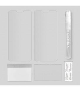 """Juodas atverčiamas Carbon dėklas Apple iPhone XR telefonui """"Book Vennus Carbon Z"""""""