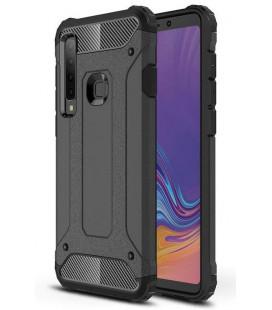 """Juodas dėklas Samsung Galaxy A9 2018 telefonui """"Hybrid Armor Case"""""""
