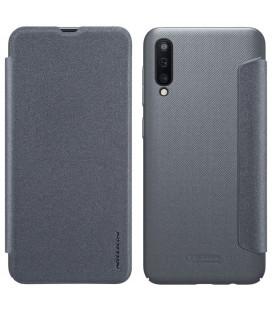"""Atverčiamas pilkas dėklas Samsung Galaxy A50 telefonui """"Nillkin Sparkle"""""""