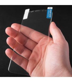 Skaidrus plonas 0,3mm silikoninis dėklas Samsung Galaxy A9 2018 telefonui