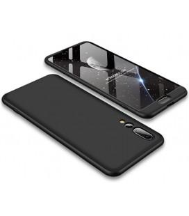 """Juodas dėklas Huawei P20 Pro telefonui """"GKK 360 Protection"""""""