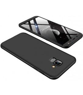 """Juodas dėklas Samsung Galaxy J6 2018 telefonui """"GKK 360 Protection"""""""