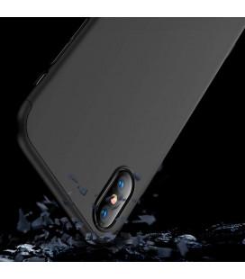 """Juodas atverčiamas dėklas Huawei P Smart 2019 telefonui """"Dux Ducis Skin"""""""