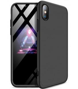 """Juodas dėklas Apple iPhone XR telefonui """"GKK 360 Protection"""""""