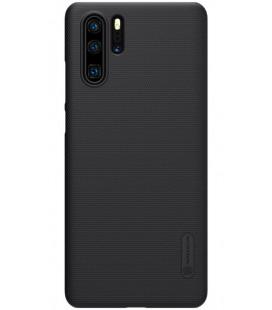 """Juodas dėklas Huawei P30 Pro telefonui """"Nillkin Frosted Shield"""""""