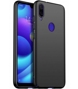 "Juodas dėklas Xiaomi Redmi Note 7 telefonui ""MSVII Simple Ultra-Thin"""