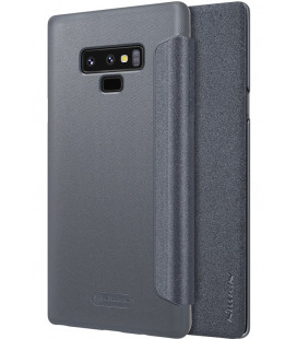 """Atverčiamas pilkas dėklas Samsung Galaxy Note 9 telefonui """"Nillkin Sparkle"""""""