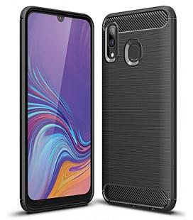 """Juodas dėklas Samsung Galaxy A40 telefonui """"Tech-Protect"""""""