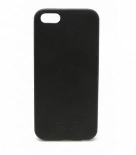 """Dėklas Tellos """"Leather case"""" Apple iPhone 5G/5S juodas"""