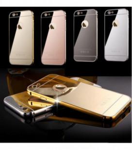 """Dėklas TPU+PC """"Mirror Case"""" iPhone 5/5S/5SE sidabrinis"""