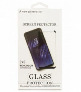 """LCD apsauginis stikliukas """"3D"""" Samsung G970 S10e lenktas juodas"""