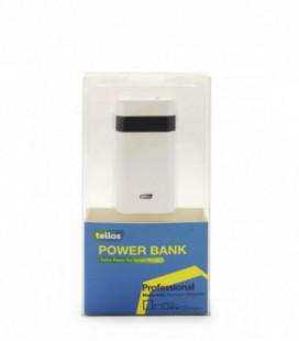 """Išorinė baterija POWER BANK TELLOS Y38 (M91) 5600mAh su """"microUSB"""" laidu"""