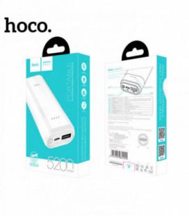 Išorinė baterija POWER BANK HOCO B35A 5200mAh balta