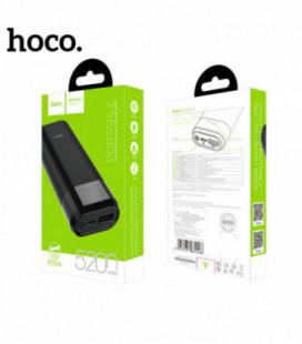 Išorinė baterija POWER BANK HOCO B35A 5200mAh juoda