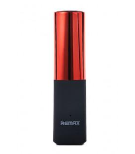"""Išorinė baterija POWER BANK Remax RPL-12 """"Lip-Max"""" 2400mAh raudona 1A su """"microUSB"""" laidu"""