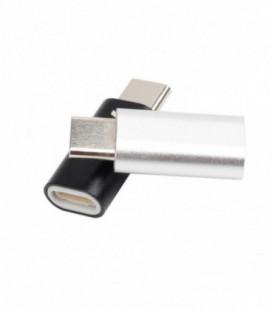 """Adapteris iš Apple """"Lightning"""" į """"Type-C"""" sidabro spalvos"""