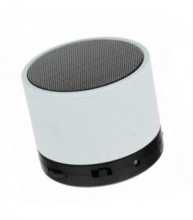 Bluetooth nešiojamas garsiakalbis S10 (MicroSD, laisvų rankų įranga, AUX) baltas